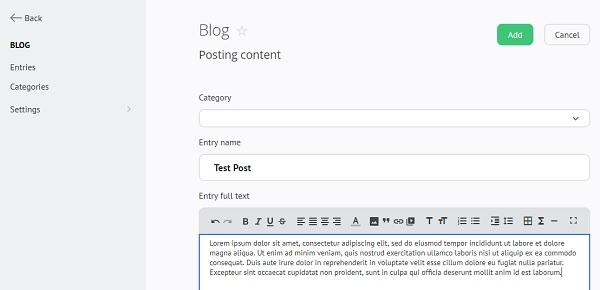 uCoz Blog