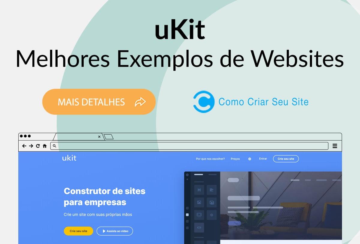 Exemplos de Sites Feitos no uKit
