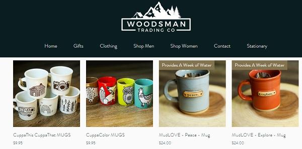 woodsman trading