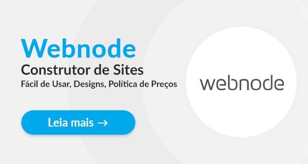 Criador de Websites Webnode – Análise