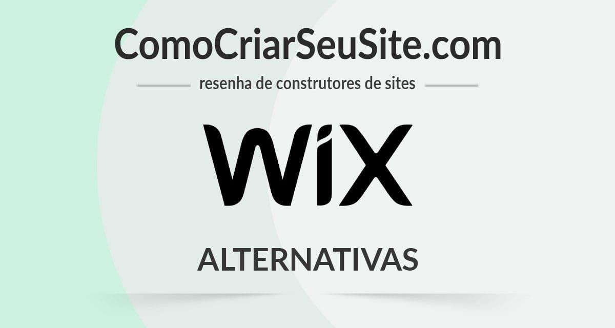 Alternativas para o Wix