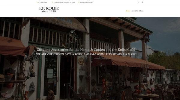 F.P. Kolbe Gift Store & Cafe
