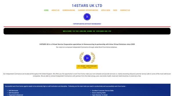 14Stars UK LTD.